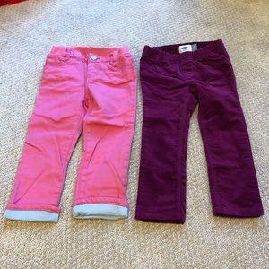 NWT✨ Velvet Leggings and Jersey Lined Pants